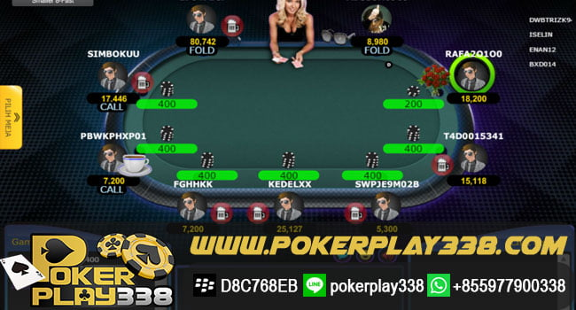 cara Main Texas Poker online Indonesia
